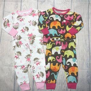 GUC 2-Sets of Carter's Snug Fit Pajamas